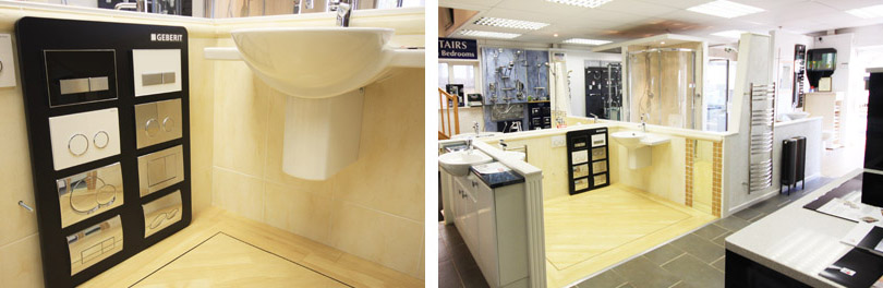 Bathroom Design Exmouth showroom exmouth